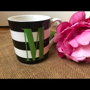 "Kate Spade x Lenox ""M"" Coffee/Tea Mug"
